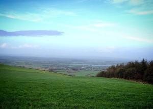 Cullohill Mountain Laois Ireland vista