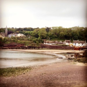 Dunmore East thatched cottage seaside Waterford Ireland