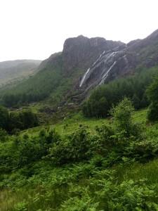 Gleninchaquin Waterfall Kenmare Kerry Ireland Ring of Beara Wild Atlantic Way