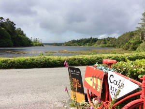 Pedal & Boots cafe Lauragh Kenmare Killmackillogue harbour ring of beara wild atlantic way kerry ireland