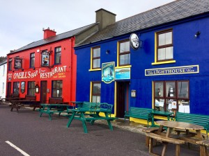 Allihies village west Cork Ireland O'Neill's pub The Lighthouse pub Ring of Beara Wild Atlantic Way