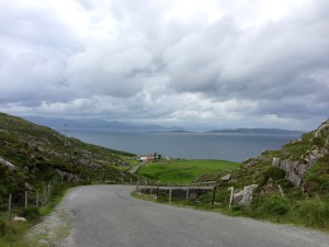 Road from Eyeries to Allihies west Cork Ireland Ring of Beara Wild Atlantic Way