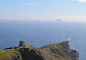 Skelligs Rocks from Bray Head Valentia Kerry Ireland Wild atlantic Way