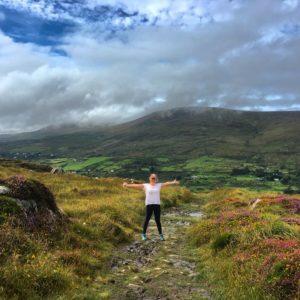 Staigue to Caherdaniel walking trail Kerry way Wild Atlantic Way Ireland