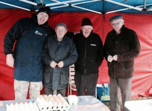 Abbeyleix market Laois Ireland Winter January