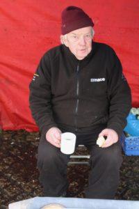 Billy Gorman Abbeyleix market Laois January winter Ireland