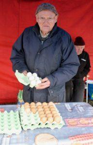 Paddy Lalor Abbeyleix market January Ireland Laois winter