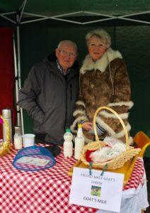 ludmila goats cheese errill laois Abbeyleix market Ireland