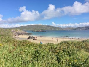 Beach time Derrynane summer holidays Kerry Ireland