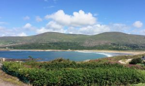 Derrynane beach from Lambs Head Kerry Ireland