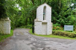 Derrynane house entrance Kerry Ireland wild Atlantic waY
