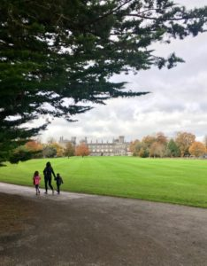 Kilkenny Castle Autumn Ireland Ireland's ancient east