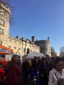 Kilkenny Castle Savour Kilkenny Autumn festival goers Ireland