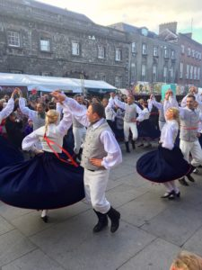 Lithuanian dancing at Savour Kilkenny 2017