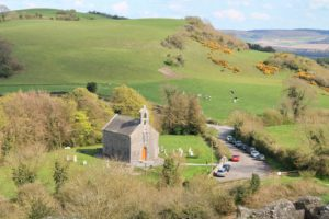 Anglican church of the Holy trinity the rock of dunamaise Laois Irelands Ancient eaST