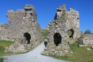 main gate Rock of dunamaise Laois Irelands Ancient East