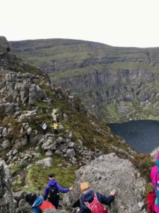 coumshingaun lake comeragh mountains waterford ireland Irelands ancient east outdoors great outdoors nature hiking hillwalking