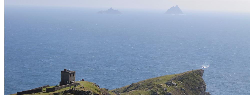 Bray Head Valentia Island Kerry Skellig Ring wiLD atlantic way Ireland Star Wars