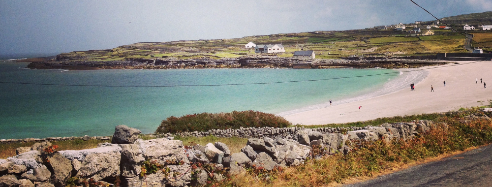 Kilmurvey beach Inishmore Aran Islands Galway Ireland Wild Atlantic Way