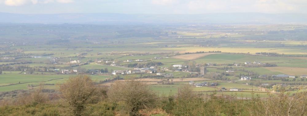 MacGiollaPadraig walk Laois Cullohill durrow Gathabawn south Laois North Kilkenny