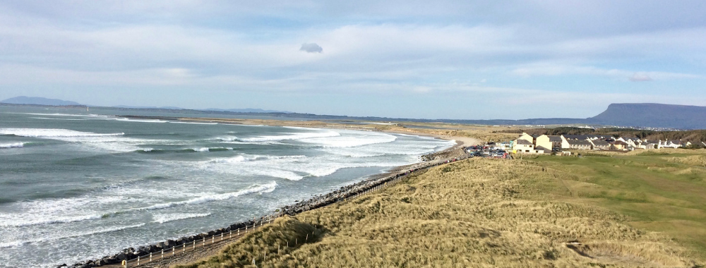 Strandhill Beach Sligo Ireland Wild Atlantic Way what to see in Sligo what to do not to miss where to go