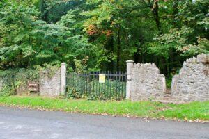 Entrance stile to Ballyrafton woods kilkenny